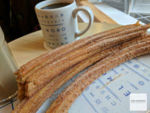 Coffee, Churros Mexico City
