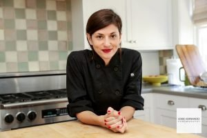 Kayla Fowler, Indoor Kitchen Chef Portrait Headshot