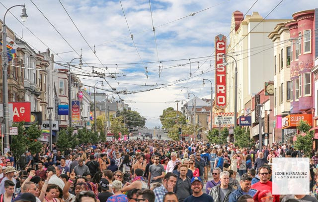 The Castro Pride Weekend, Pink Saturday Party, San Francisco