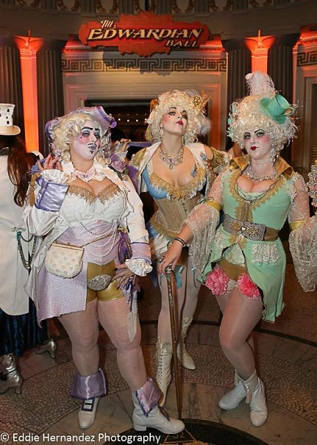 Edwardian Ball Outfits, San Francisco, Event Photo