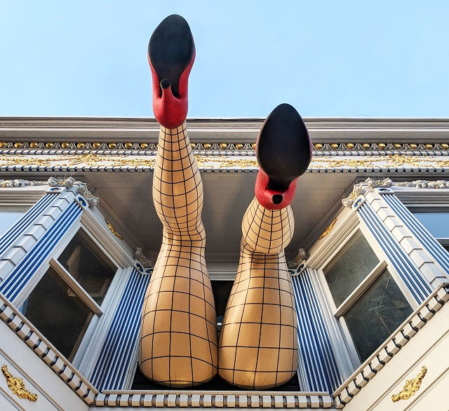 Piedmont Boutique Legs, Haight Ashbury, San Francisco, California
