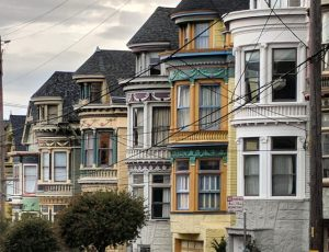 Victorian Homes, Haight Ashbury, San Francisco, California