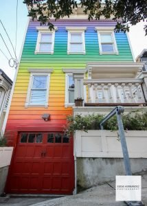 Rainbow House, San Francisco, CA | Noe Valley