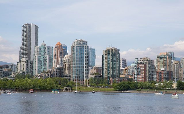 Vancouver, British Columbia, Canada Skyline View