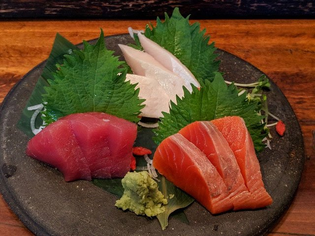 Sushi Plate, Vancouver, British Columbia, Canada