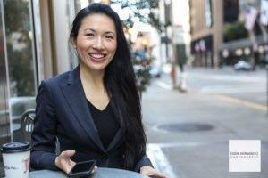 Young Female Executive Business Portrait, San Francisco Photographer