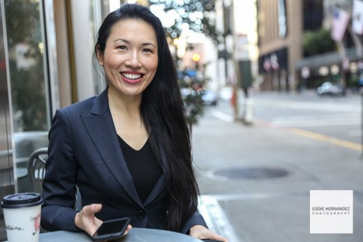Young Female Executive Business Portrait, San Francisco Photographer