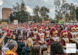University of Southern California (USC) Marching Band, Football Gameday Tailgate