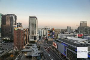 Downtown Los Angeles, Panoramic View, Staples Center