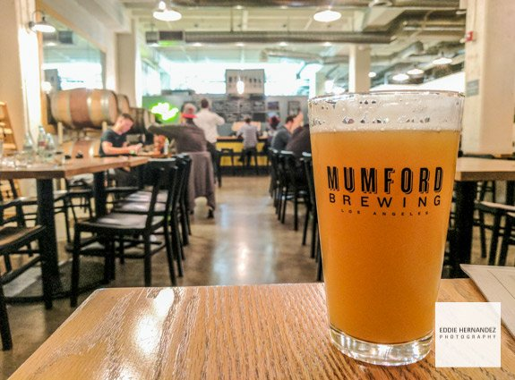 Mumford Brewing Taproom Interior, DTLA, Los Angeles - Hazy IPA