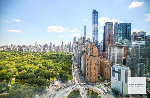 Central Park View, 59th Street, Columbus Circle, New York City