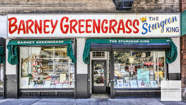 Barney Greengrass Exterior, UWS, Upper West Side, New York