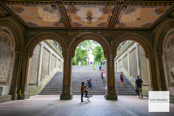Bethesda Terrace, Central Park New York City