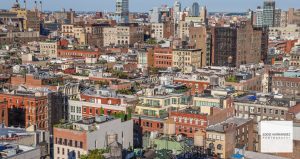 New York City, Aerial Rooftop View, SoHo