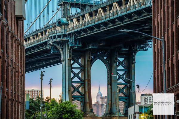 DUMBO, Manhattan Bridge, Washington Street, New York