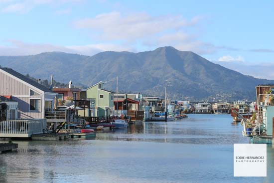 Sausalito Floating Homes, Marin County