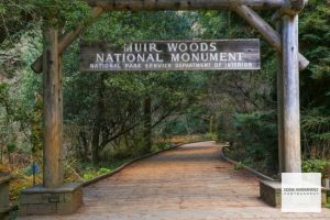 Muir Woods National Park Entrance, Marin County, California