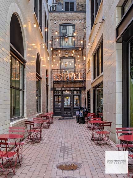 Chicago Coffee Shop Alley