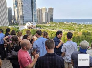 Chicago Rooftop Balcony Happy Hour - Cindy's