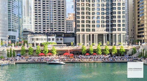 City Wine, Chicago Riverwalk Summer Happy Hour