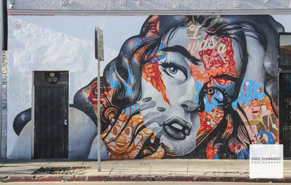 Arts District, DTLA Street Art Mural - Los Angeles