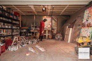 Chor Boogie - American spray paint artist based in San Francisco, California