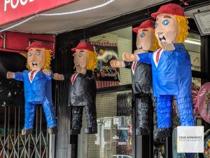 Donald Trump Pinatas, Mission District, San Francisco