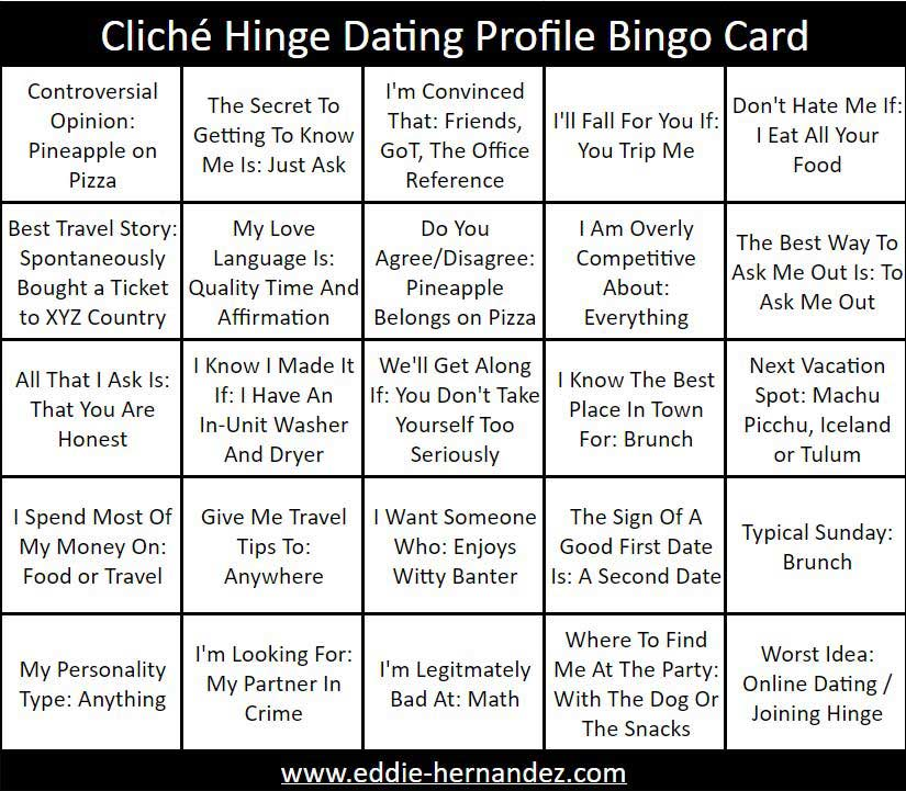 Hinge Prompts and Answers To Questions