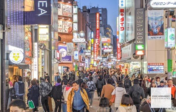 Shibuya Neighborhood- Tokyo, Japan