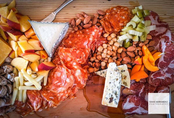 Charcuterie Board & Cheese Spread