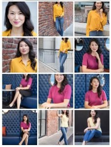 Modeling Portraits // Agency Comp Card // Female Actor, Headshot and Lifestyle Photos
