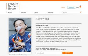 Alice Wong Author Headshot, Editorial