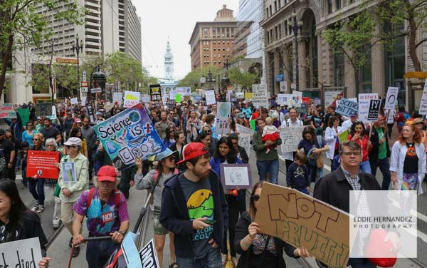 March for Science, San Francisco 2017