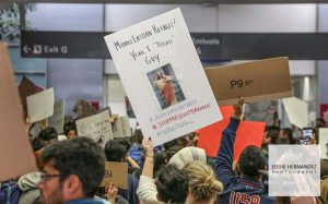 SFO Travel Ban Protest, 2017
