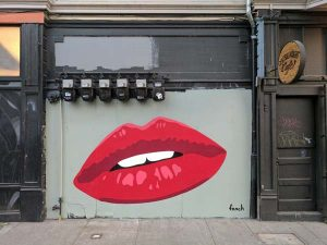 fnnch, red lips - haight street, san francisco