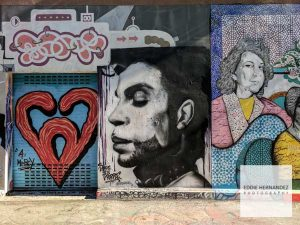 Clarion Alley Prince Mural