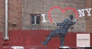 I Love NY Street Art Mural