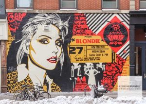 Blondie Mural, NYC