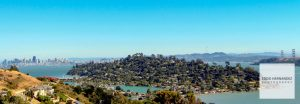 Tiburon, Belvedere Panoramic Photo, Marin County