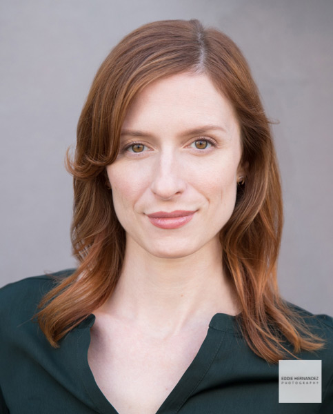 Woman's Professional Acting Headshot Example