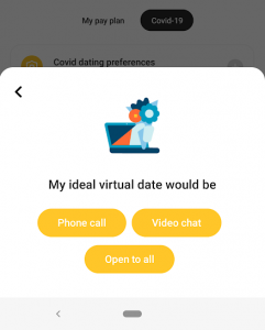 Bumble Covid Dating Preferences