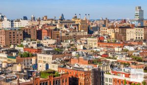 Manhattan Skyline, Soho, NYC