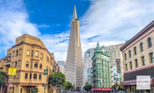 San Francisco, Transamerica Pyramid, Sentinel Building, North Beach