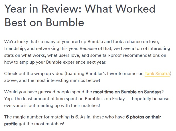 Bumble First Messages, Opening Lines Tips